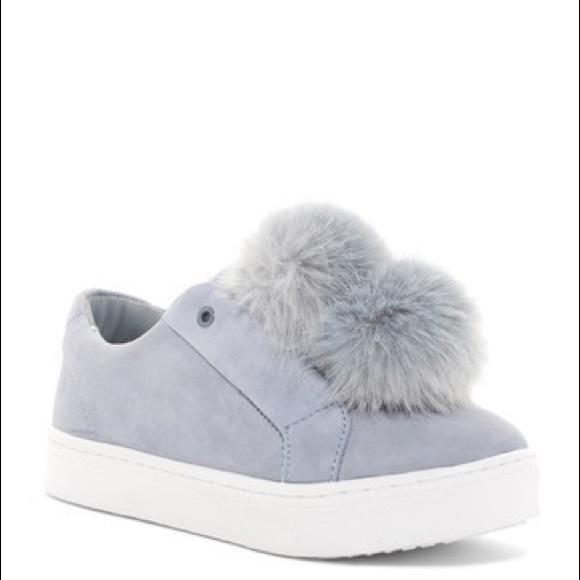 5611e5a5da15 Sam Edelman Leya Slip On Pom Pom Sneakers